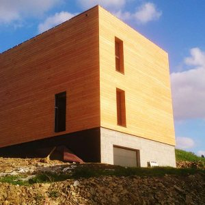 Construction d'un bâtiment bbc bois