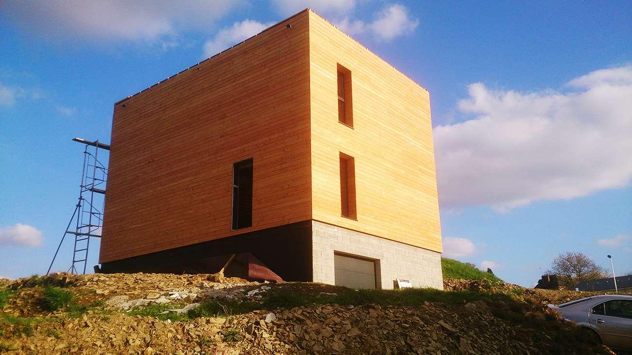 Cordhomme bois sp cialiste de la construction de maison bois passive et bbc Maison bbc parement bois