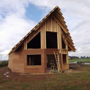 Contruction d'une maison bbc en bois