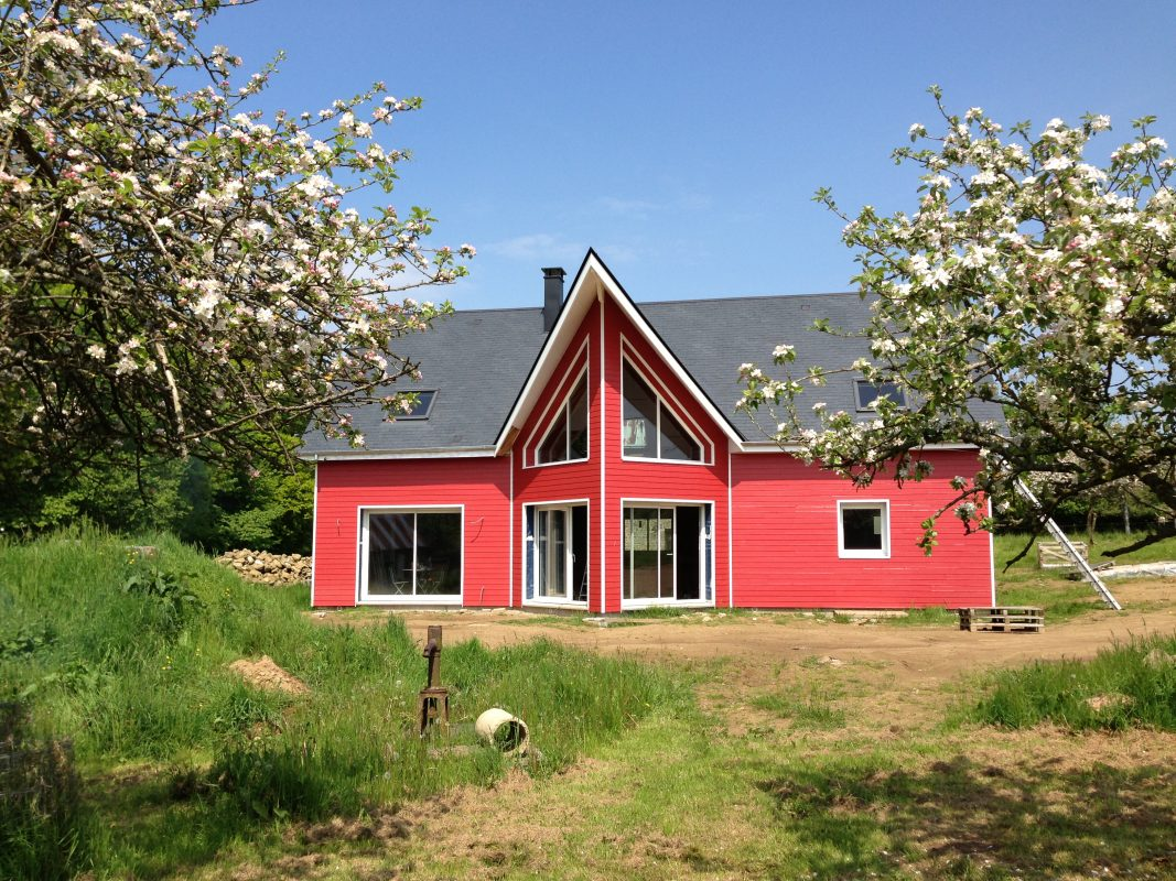 Construction d 39 une maison bbc bois caen calvados et normandie - Moucherons maison pourquoi ...