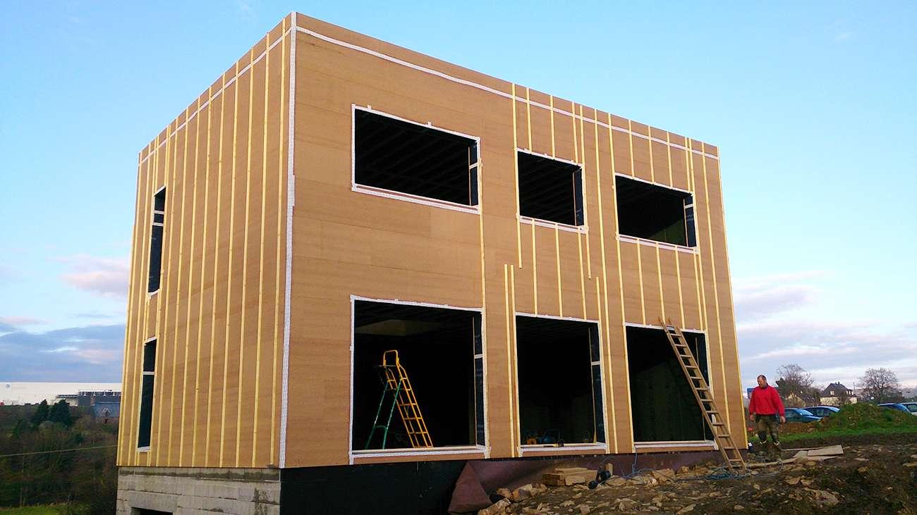 Maison passive en bois avec un tage - Maison passive en bois ...