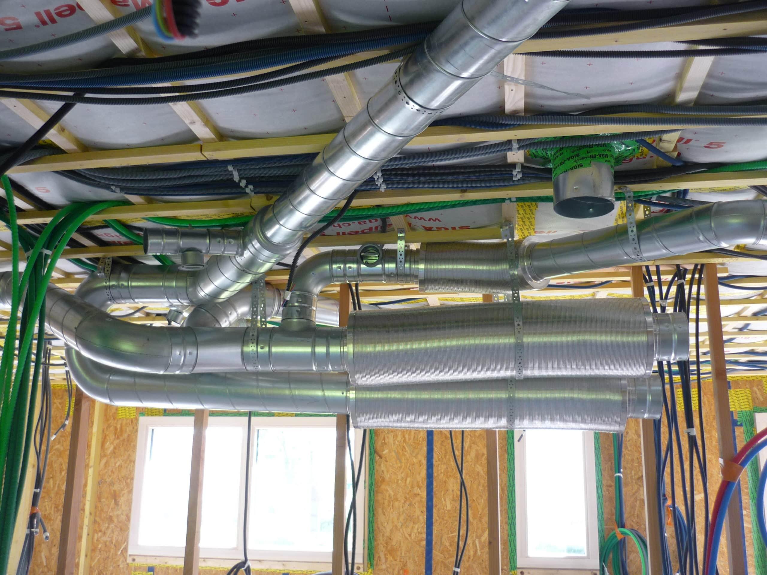 Syst me de ventilation d 39 une maison passive www for Ventilation d une maison