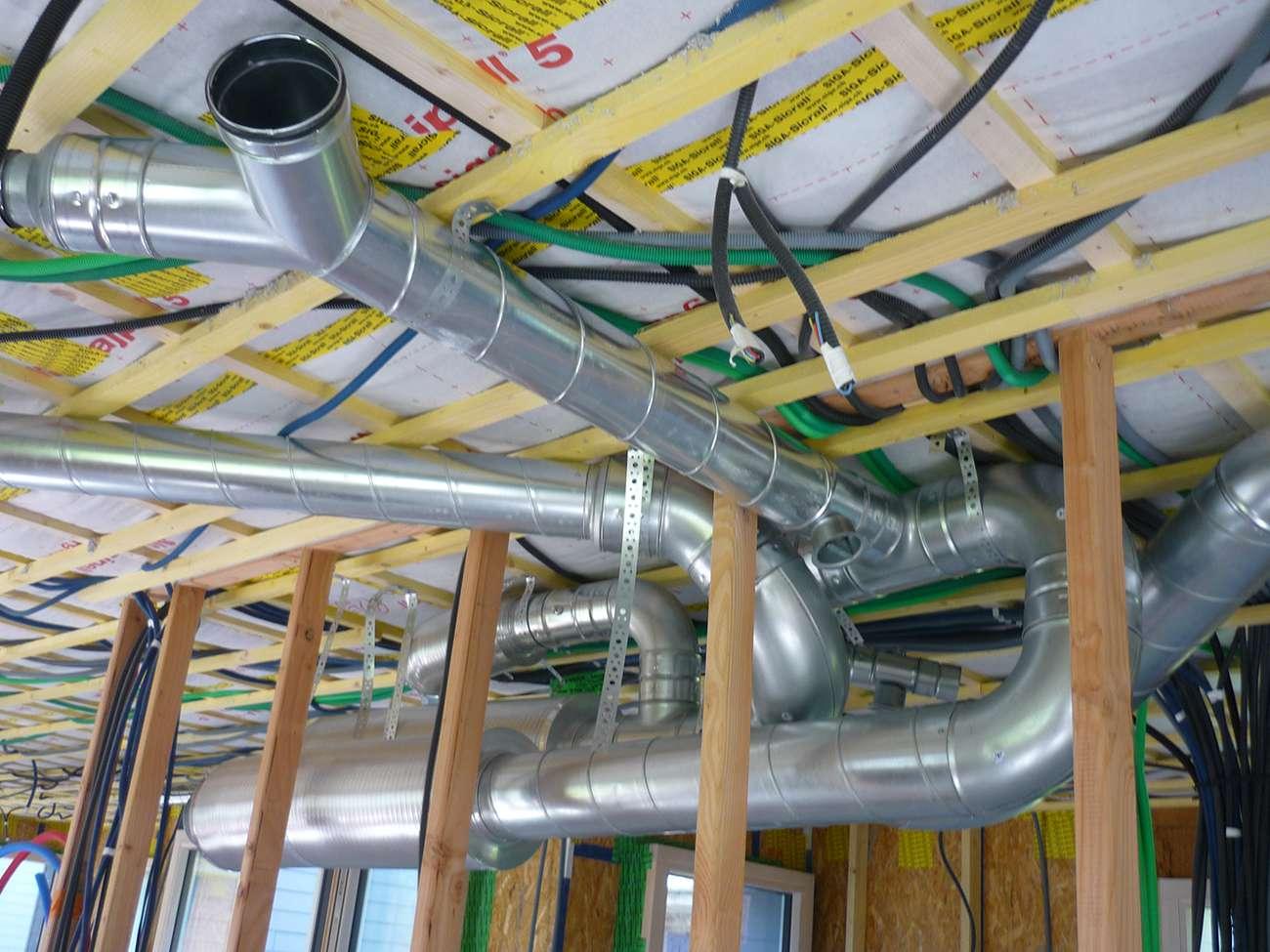 Syst me de ventilation pour une maison passive www for Systeme de ventilation maison