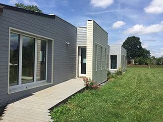 Calvados, maison passive bois